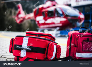 stock photo rescue helicopter
